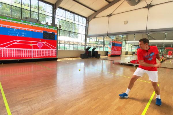 MultiBall Tennis Patrik Kühnen
